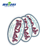 China supplier top sell kids woven clothing label for clothes