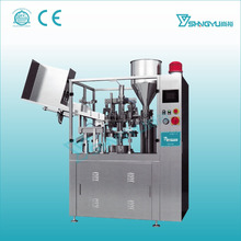Guangzhou hand cream soft tube filler and sealer/plastic tube filling and sealing machine/toothpaste tube filler and sealer