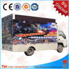 Guangzhou xindy hot sell mobile 7d cinema hydraulic 6 seats 7d cinema in mobile truck 7d cinema for sale
