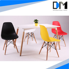dining table and chair , leisure series ABS plastic chair dining