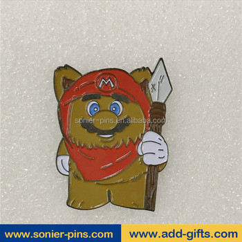 Sonier-Pins wholesale custom lapel pins cartoon character lapel pins flag metal lapel badge