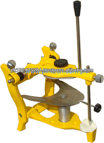Dental Semi Adjustable Articulator with Bearing Rod
