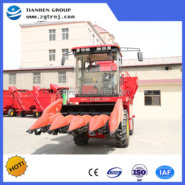 small silage sweet corn combine harvester with CE certificate