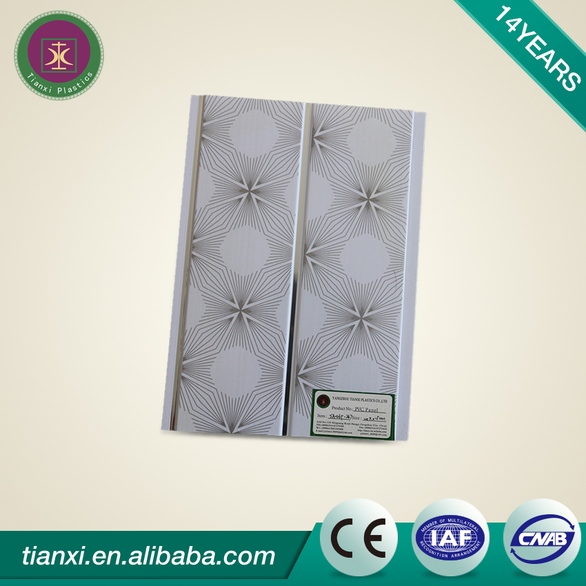 New Style modern design pvc washable ceiling tiles panel