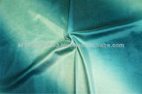 POLYESTER SPANDEX VELVET OMBRE PRINTED FABRIC