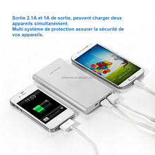 TOP selling Mobile phone Power bank & Tablet Power Bank CE rohs 10000mah universal power bank