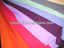 100 polyester plain dyed fabric