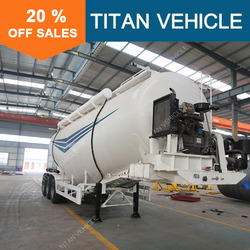 Titan Used Tri Axle 60 Tons Fly Ash Cement Bulker For Sale In Pakistan