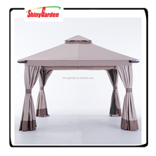 Shinygarden 10x10 Mesh Curtain wind proof gazebo, 3mx3m Gazebo 100% Waterproof Colors