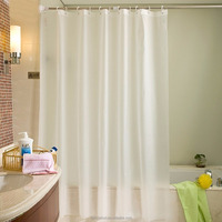 Water Resistant and Mildew Proof Shower Curtain Liner Peva with Holes