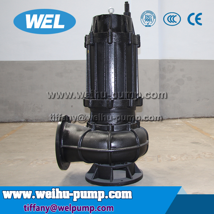 Agitating submersible sewage pump for polloution water