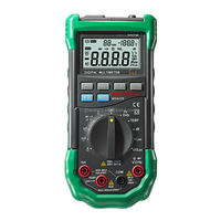MASTECH MS8229 Auto Range Of Environmental Monitoring Multimeter Can Measure Temperature, Humidity, Illuminance Noise