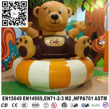 Kids inflatable bear toy for naughty castle accessories indoor playground amusement park