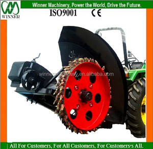 disk type trencher
