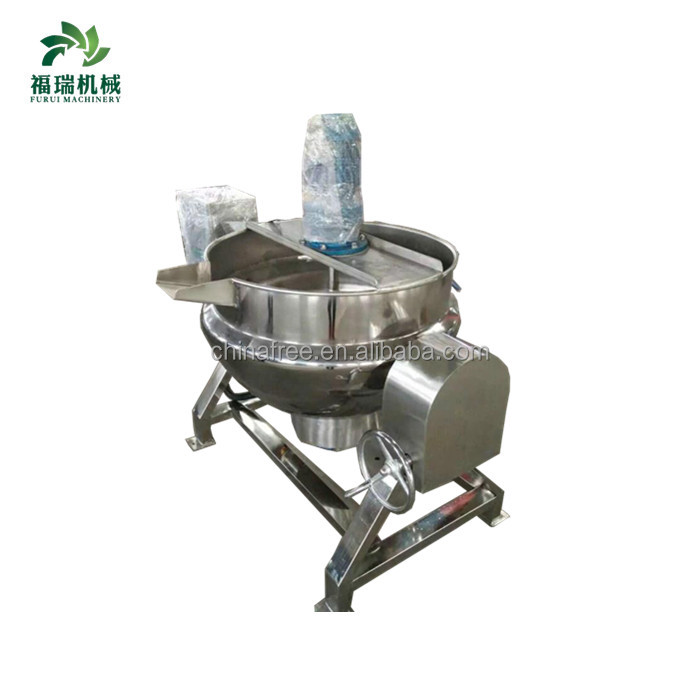 2018 jacketed kettle/industrial cooking pot/steam jacketed kettle