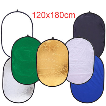 120*180cm Portable High Quality Studio Camera Reflector 7 in 1 Light Panels