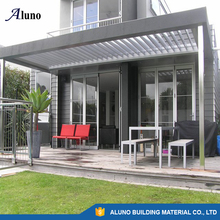 Aluno Aluminum Motorized Louver Roof in Waterproof System
