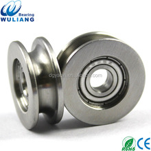 China High Quality AISI304 material S625zz steel wheels for sliding gates