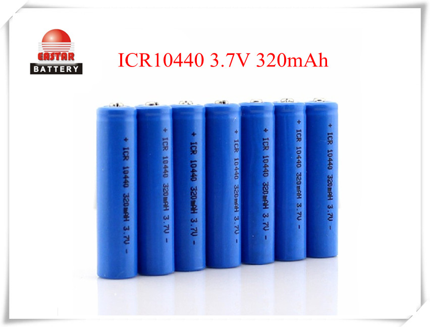 ICR10440 3.7V 360mAh Lithium Rechargeable Battery For Flashlight