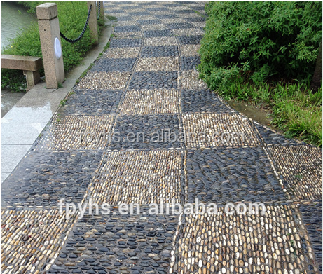 pebble stones for garden walkways