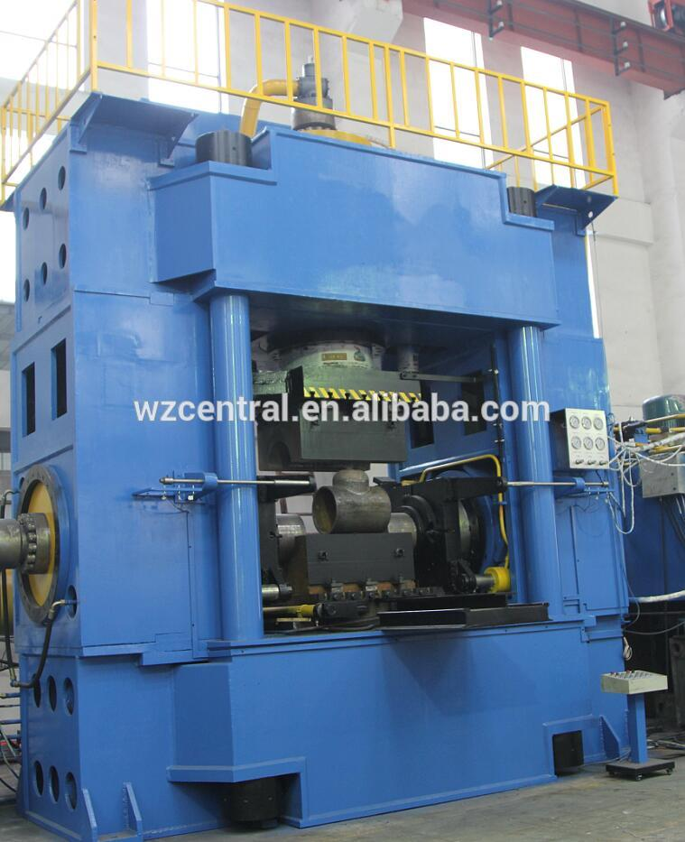 YK65 series T pipe machine, steel T pipe forming machine,hydraulic bulge forming T tube machine