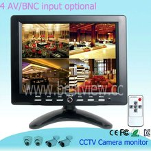 4 av -channel cctv monitor