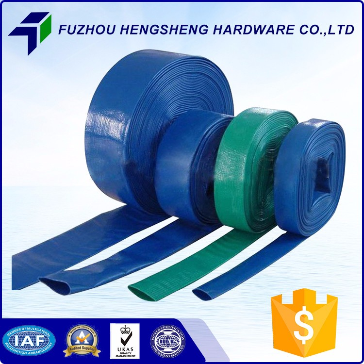 Agricultural Irrigation High Quality Heavy Duty Lay Flat Hose For Mine