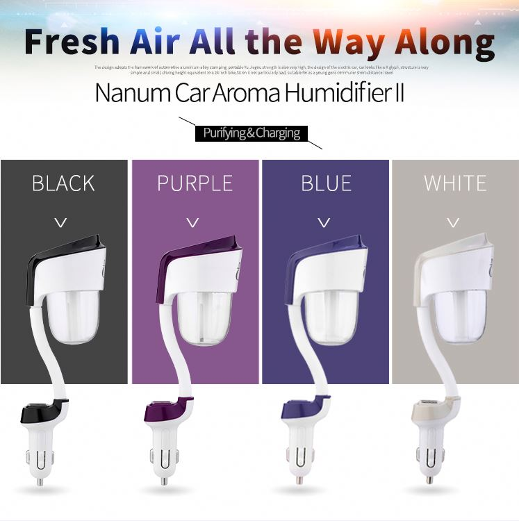 E-Union Diffuser EU-001 car aroma diffuser/ humidifier ultrasonic/ air freshener for car