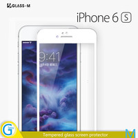 High Quality Full Cover Tempered Glass Screen Protector Film for iPhone 6s
