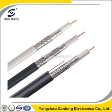 RG6 coaxial cable 75 Ohm for TV / CCTV / CATV