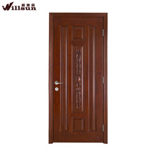 Flush Europe style swinging wooden door for cloakroom price