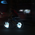 Shenzhen factory 3600mAh rechargeable 416 led bicycle wheel light