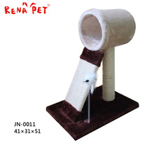 China Factory modern furniture best cat tree house warm plush cat house
