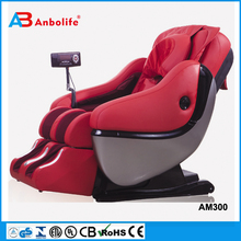 Anbolife Electric Full Body Shiatsu Massage Chair Recliner w/Heat Stretched Foot Rest