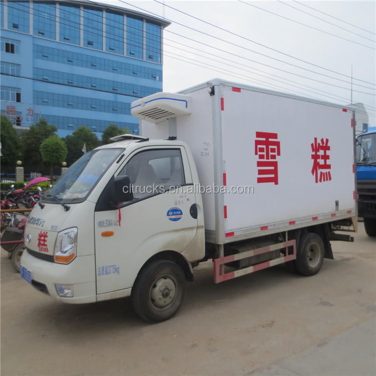 Top grade hot selling refrigerated reefer box truck
