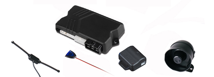 remote engine start stop car alarm system