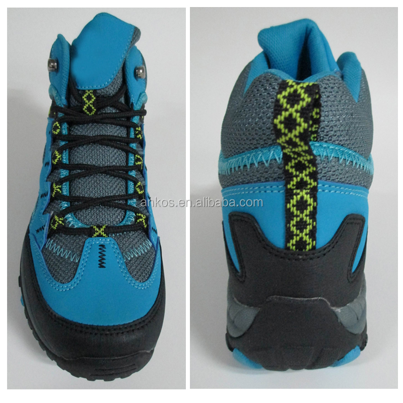 2017 New style quality cheap men hiking shoes waterproof