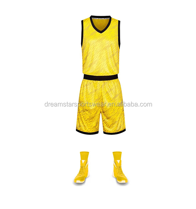 Thai Quality Sport Jersey Good Price Basketball Clothes Set