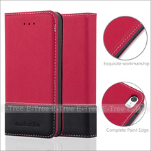 Wholesale Fresh Jean Series PU Leather Buckle Case Soft Tpu Case Inside Cover For Apple iPhone 5