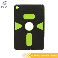 Latest style 2 in 1 pc tpu armor shockproof protective case for iPad 4
