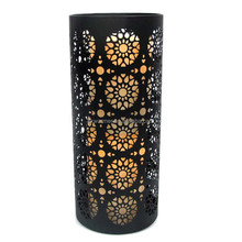 ALL-WEATHER LED Sun-Flower CANDLE HOLDER