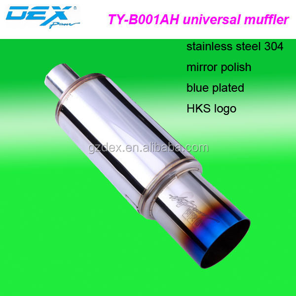 universal car parts color hot sale hks exhaust muffler pipe Factory direct selling
