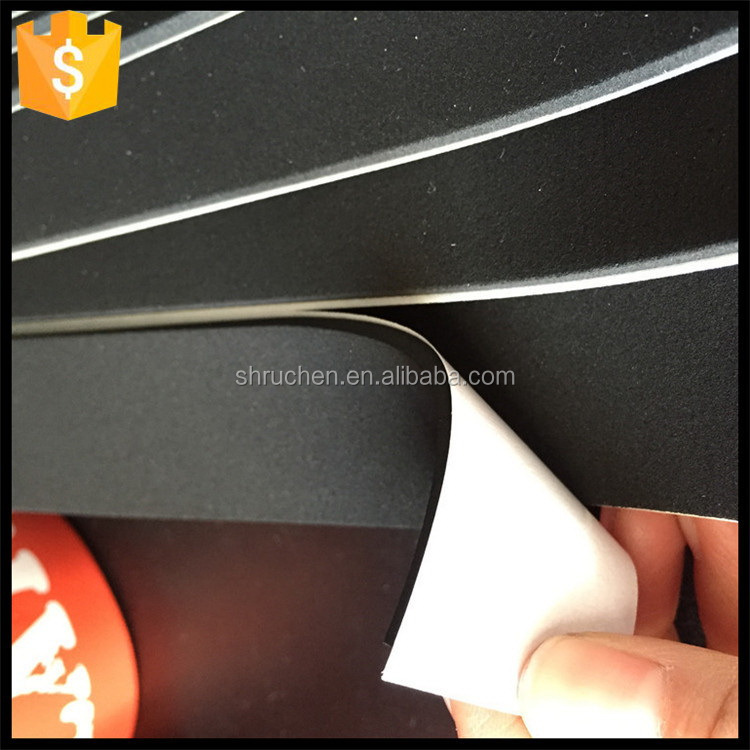 fire proof adhesived backed black foam rubber sheets
