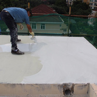 one component water curing polyurethane waterproofing coating for roofing