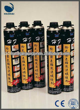 CE Adhesive Sealant Expanding Construction PU Foam Caulk Manufacturer