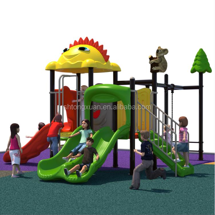 Used Large Kids Slides Tube Children Plastic Outdoor