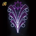 Street pole LED decorative lights commercial christmas decor
