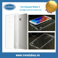 IMAK all edge covered protective hard plastic clear case For Huawei Mate S