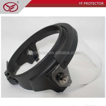 High impact police Anti riot Control Face Shield