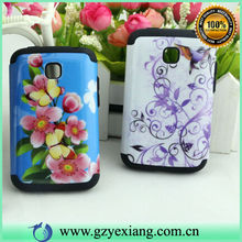 Design hard combo pc silicon cover for lg optimus l3 ii e430 e425 case